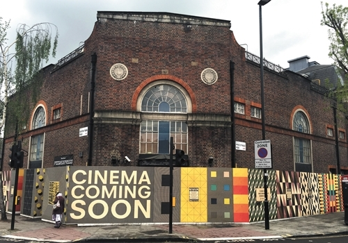 Calling all Kentish Town creatives: cinema site needs your artwork
