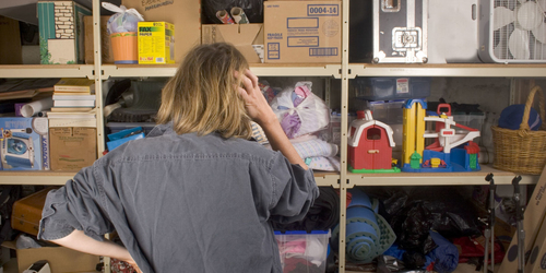 Decluttering your shed and garage: where to start when moving home