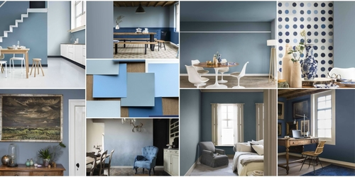 Blue is the colour....now introduce it into your home