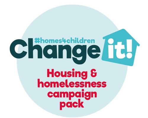 Important new campaign on children's rights & homelessness