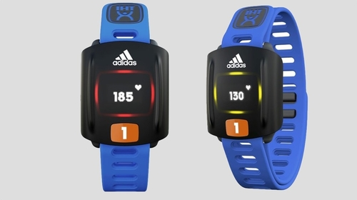 Adidas has unveiled the Zone, a wearable fitness tracker that's aiming to whip school kids into shap