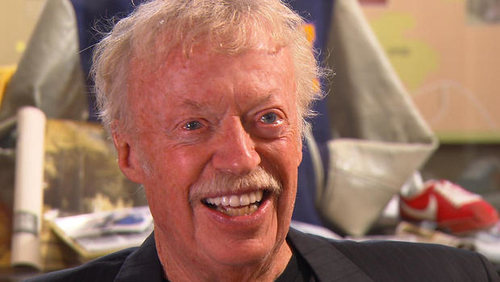 Nike's fiercely competitive Phil Knight