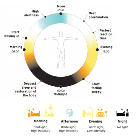 Lighting Europe and IALD position on Human Centric Lighting