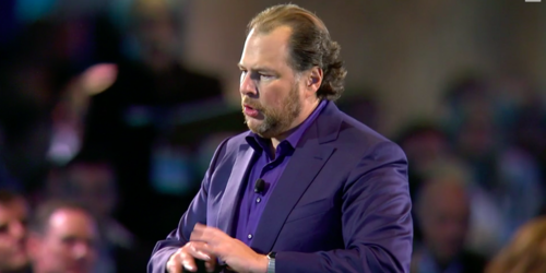 Benioff finds the Trump card!