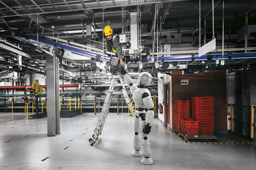 Artificial intelligence and robotics are revolutionising business.