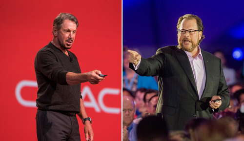 Salesforce VS Oracle: The AI Battle