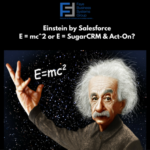 What's Einstein got to do with it?