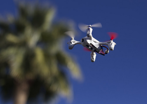 Drones, streaming data & analytics