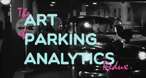 Parking analytics in the right bay