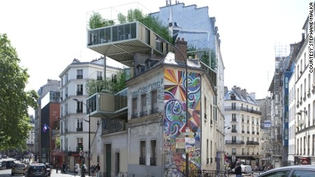Modern 'Parasite properties' - is this Paris' new style affordable housing?