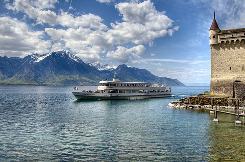 Montreux  - Fabulous base for winter sports in Switzerland
