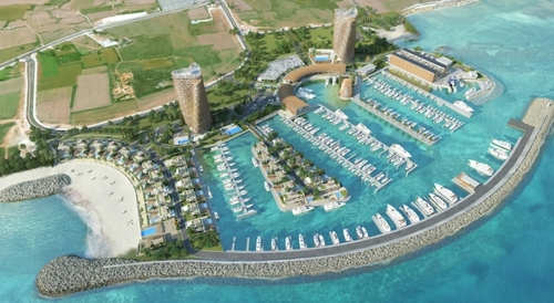 A super yacht marina with super investment potential in Ayia Napa