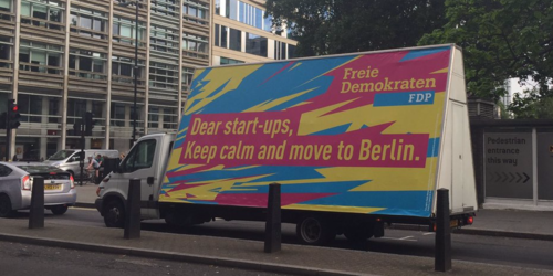Is Berlin positioning itself as the new London
