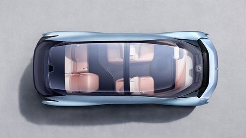 NIO Eve and next generation self driving car design