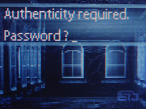 Forgotten password? Maybe that's the way it should be.