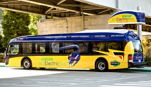 Electric bus patents released to public