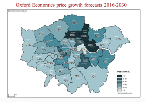 London's property prices set to double by 2030: JLL