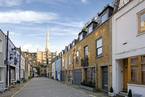 The upside of downsizing to a London mews