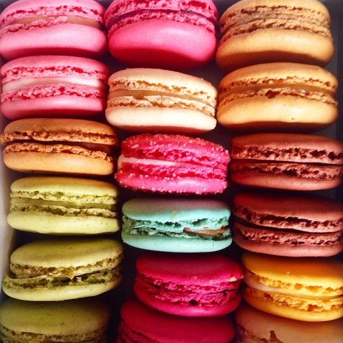 Why macarons and mews are perfect partners