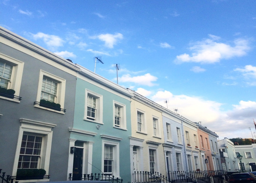 The prettiest streets in London? Head to Notting Hill