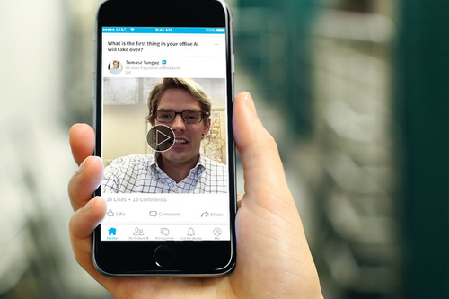 LinkedIn Exclusively Allows 'Influencers' to Create 30-Second Videos