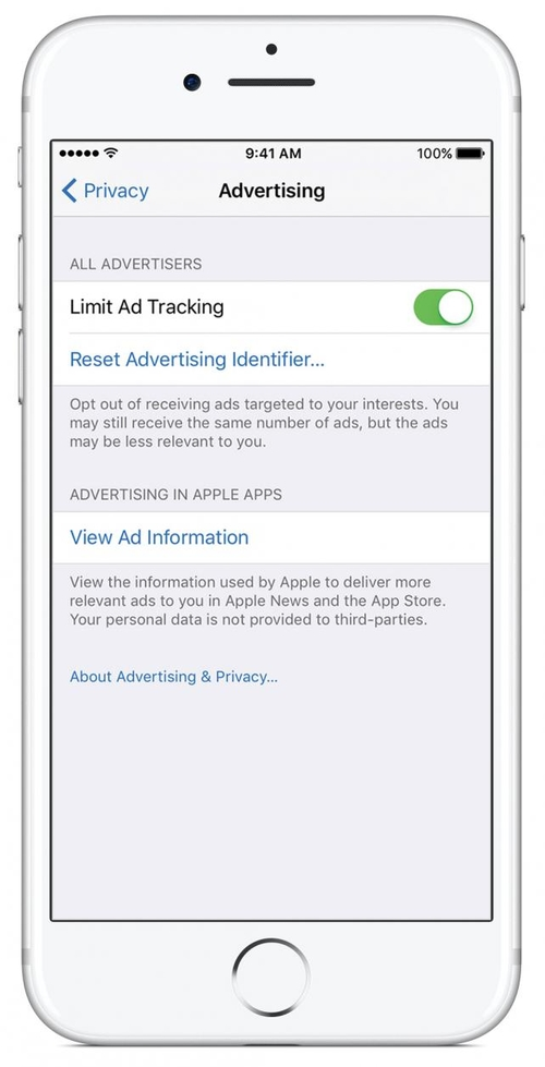 The ghost in the machine: Apple device users avoiding targeted advertising