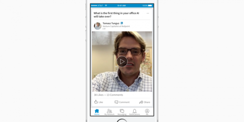 Get ready to start seeing videos on LinkedIn