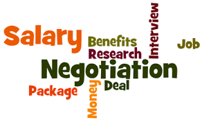 New salary negotiations - Candidate or Recruiter?