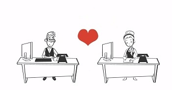 Love is in the… Office?