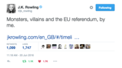 Brexit: Remain or Leave? Beware the monsters.