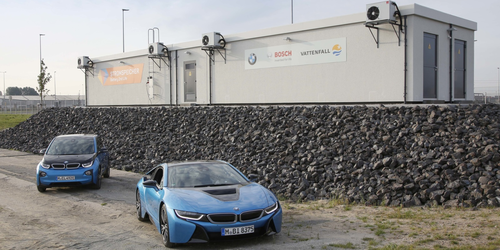 BMW and Bosch open new 2.8 MWh energy storage facility built from batteries from over 100 electric c