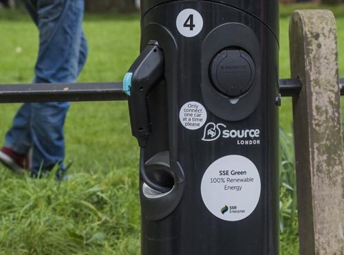 London EV charging network secures 100% renewable power supply