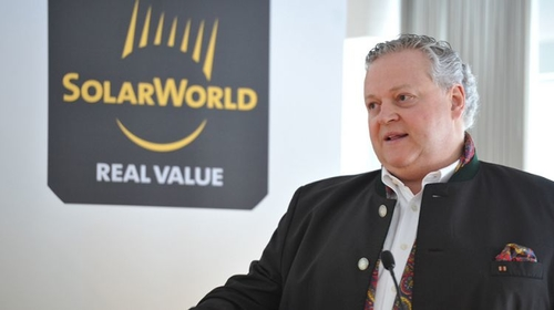 SolarWorld entering insolvency proceedings