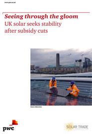 Britischer Solar-Arbeitsmarkt im letzten Jahr um ein Drittel geschrumpft