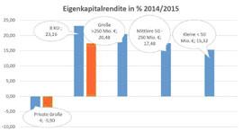 Energieversorger 2014 und 2015 unter verstärktem Ergebnisdruck