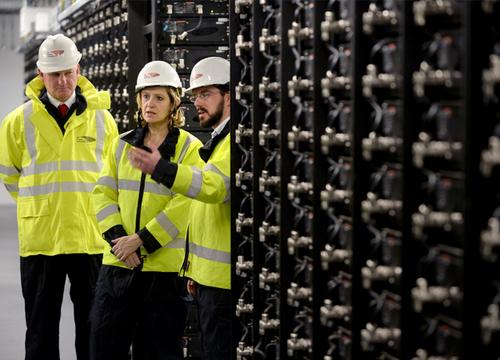 Pilotprojekt 'Smarter Network Storage' in Großbritannien erfolgreich abgeschlossen