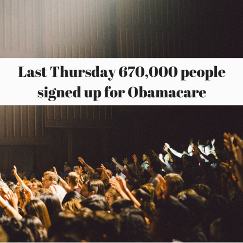 Obamacare Boasts Largest Signup Day Ever