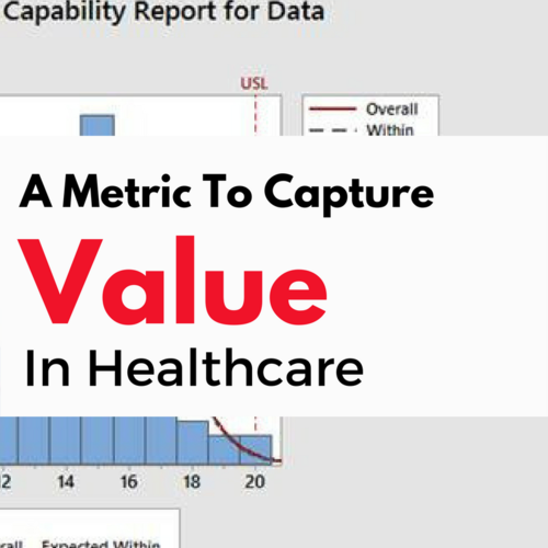 Have You Seen This New Metric To Measure Value In Healthcare?