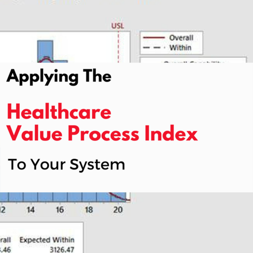 Applications of the Healthcare Value Process Index