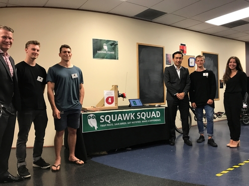 Squawk Squad gamifies conservation