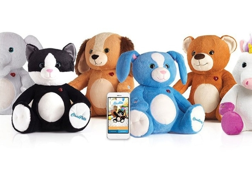 Soft toy animals held to bitcoin ransom