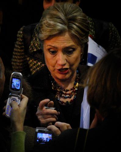 Hilary Clinton on Her