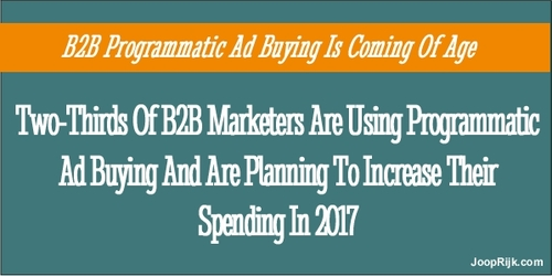 Is Programmatic Advertising The Silver Bullet For B2B?
