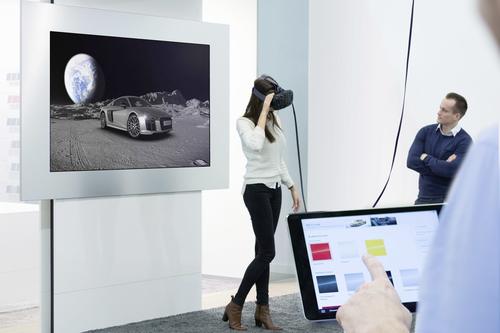 Audi selling in VR