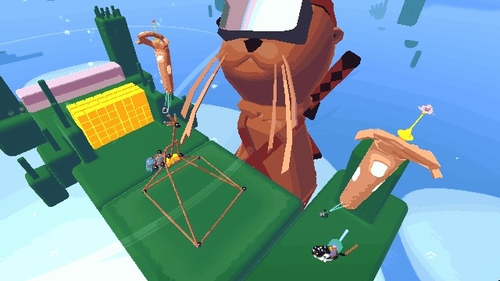 VR from a different perspective appeals to my inner ninja-seal-contraption-builder