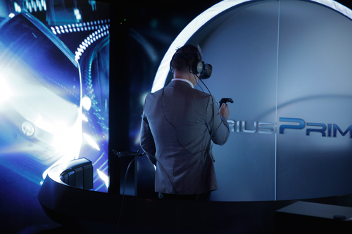 Toyota steps up with a VR immersive experience event.