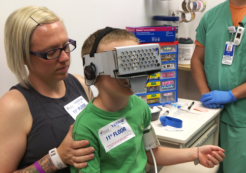 When VR can help our children's health, I'm all for it.