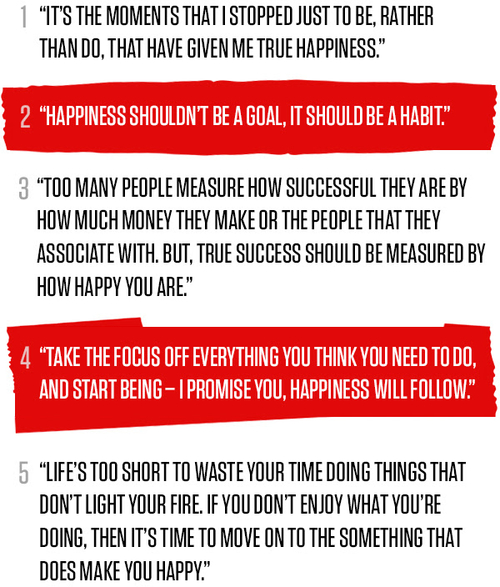 5 Top Tips on Happiness From Richard Branson...