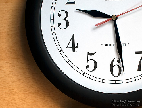 What would you give up if there was one hour less in each day?