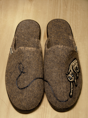 Are your slippers too comfy?